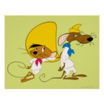 Speedy Gonzales and Friend Poster