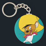 "SPEEDY GONZALES™ Bow-Tie Keychain<br><div class=""desc"">Speedy Gonzales Character Art.</div>"