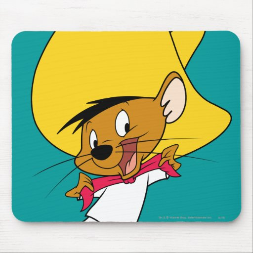 Speedy Gonzales Bow-Tie Mouse Pad