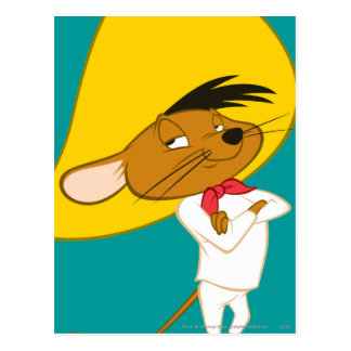SPEEDY GONZALES™ Confident Color Postcard