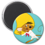 Speedy Gonzales in Color 2 Inch Round Magnet