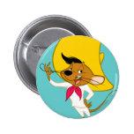 Speedy Gonzales Mustache Button