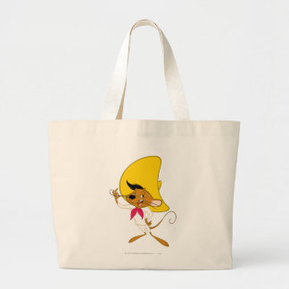 SPEEDY GONZALES™ Mustache Large Tote Bag