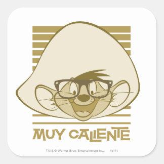 Speedy Gonzales - Muy Caliente Square Sticker