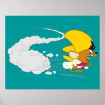 SPEEDY GONZALES™ Running in Color Poster