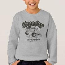 Speedy Gonzalez Custom Lowriders B/W Sweatshirt