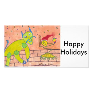 SPEEDY  Happy Holidays Card