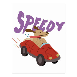 Speedy Postcard