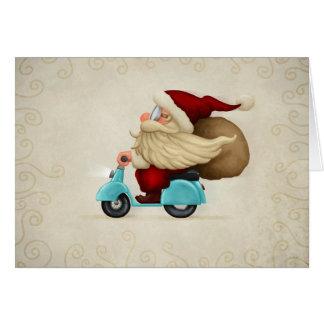 Speedy Santa Claus Card