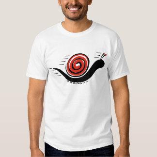 Speedy Snail T Shirts