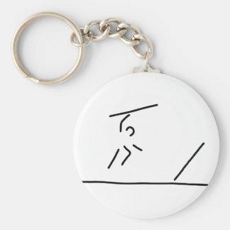 speerwerfer far throw javelin keychain