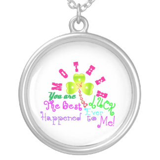 ♫☆♥Speically Customized Silver Necklace for Mom☆♥♪
