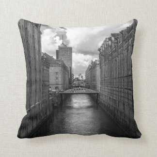 Speicherstadt Hamburg Throw Pillow
