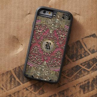 Speigaford Baroque Damask Monogram Tough Tough Xtreme iPhone 6 Case
