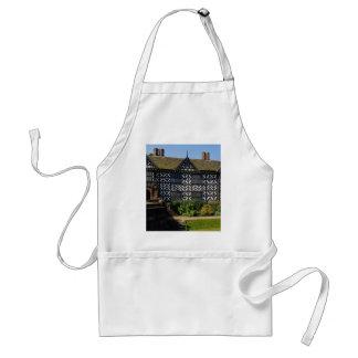 Speke Hall, Tudor half timbered house, Merseyside, Apron