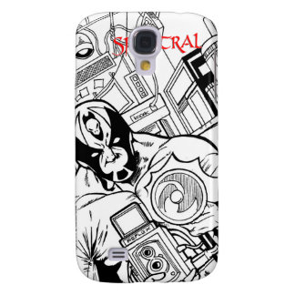 """Spektral """"scoop"""" front page Speck® Fitted™ Hard Sh Samsung S4 Case"""