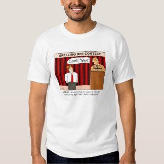 Spell Bee Cartoon T-shirt