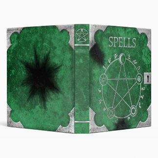 """Spell Binder 1"""" Green"""