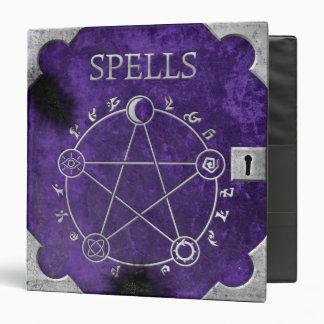 "Spell Binder Purple 1.5"""