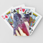 Spell Book Bicycle Poker Cards