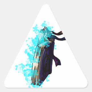 Spell Book II Triangle Sticker