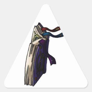 Spell Book Triangle Sticker