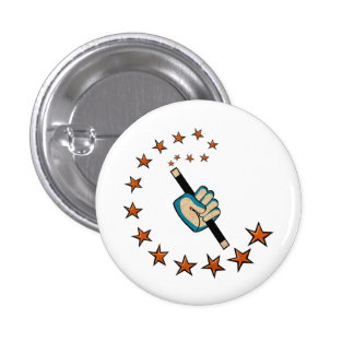 Spell Brand 1¼ Inch Round Button