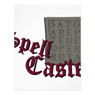 Spell Caster Letterhead