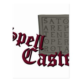 Spell Caster Postcard