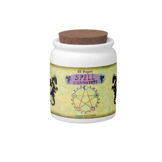 Spell Components Jar Candy Jars