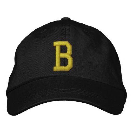 Spell it Out Initial Letter B Ball Cap Baseball Cap