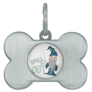Spell It Out Pet Name Tag