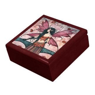 Spell of Autumn Fairy Trinket Box