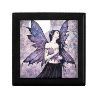 Spell of Night Gothic Fairy Trinket Box