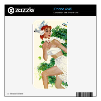 Spell of the Islands iPhone 4S Skin