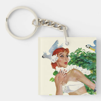 Spell of the Islands Keychain