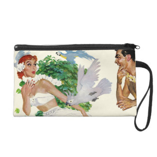 Spell of the Islands Wristlet Purse