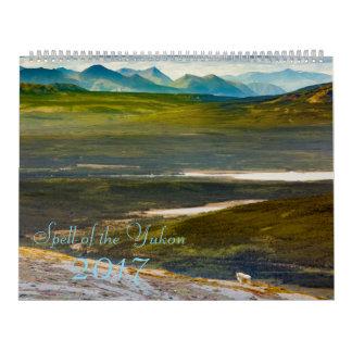 Spell of the Yukon 2017 Photo Calendar