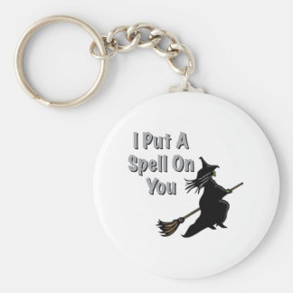 Spell On You Basic Round Button Keychain