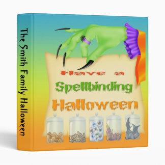 """Spellbinding Halloween - Witch Hand  1"""" Binder"""