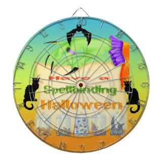 Spellbinding Halloween - Witch Hand Dart Board