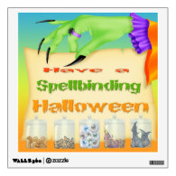 Spellbinding Halloween - Witch Hand Sqr Wall Decal