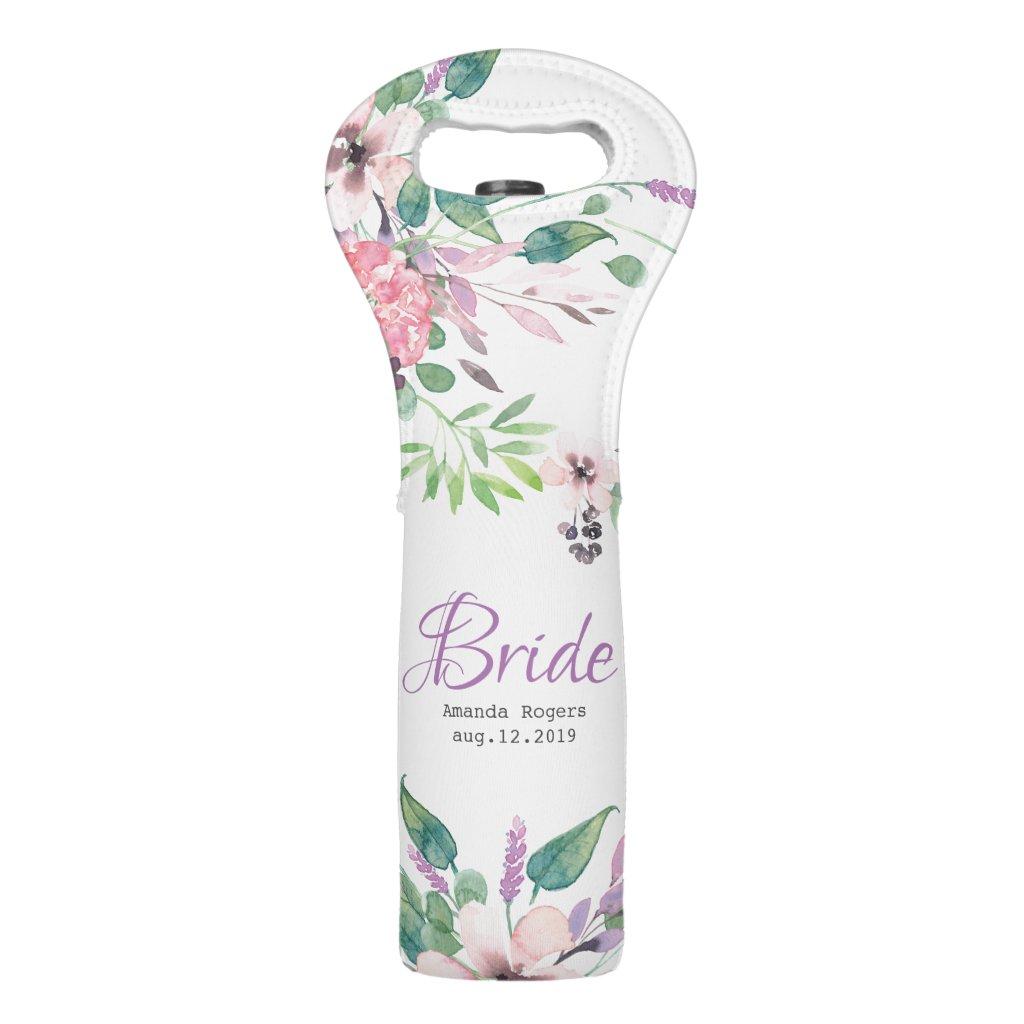 Spellbound Flowers Wreath-Bride Typography