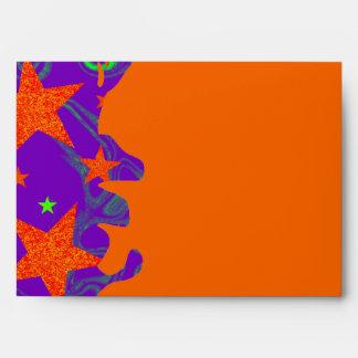 Spellbound grunge envelope orange