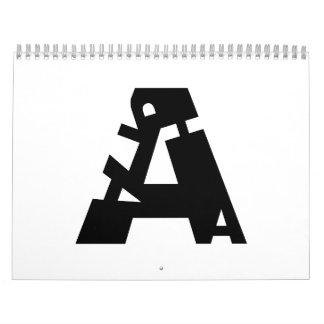 Spelling Alphabet (US) 24 Months Calendar