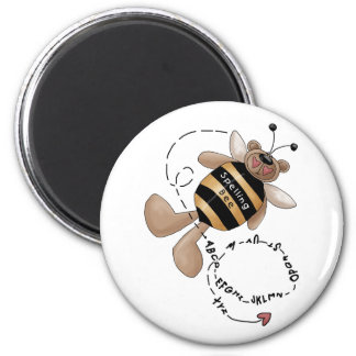 Spelling Bee 2 Inch Round Magnet