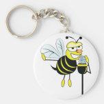 Spelling Bee Basic Round Button Keychain