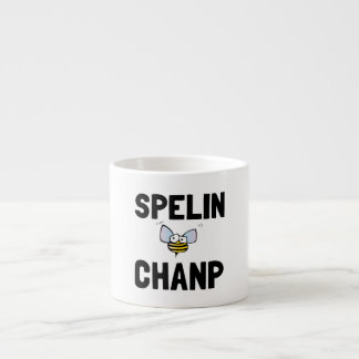 Spelling Bee Champ Espresso Cup