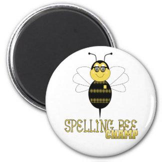 Spelling Bee Champ Magnet