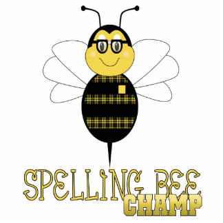 Spelling Bee Champ Ornament Photo Cut Outs